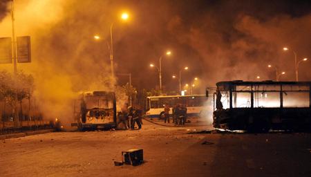 (4)CHINA-XINJIANG-URUMQI-VIOLENCE (CN)