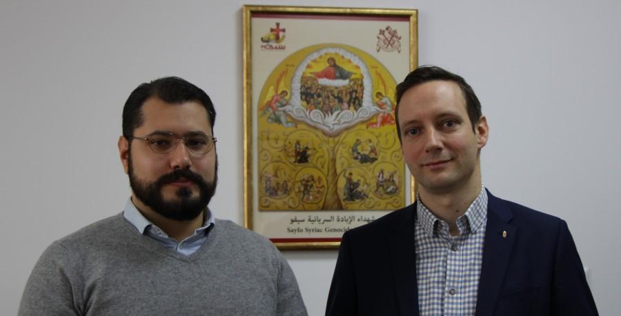 HONGRIE Ferenc Almássy et Tristan Azbej. Photo Visegrád Post IMG_0251-3