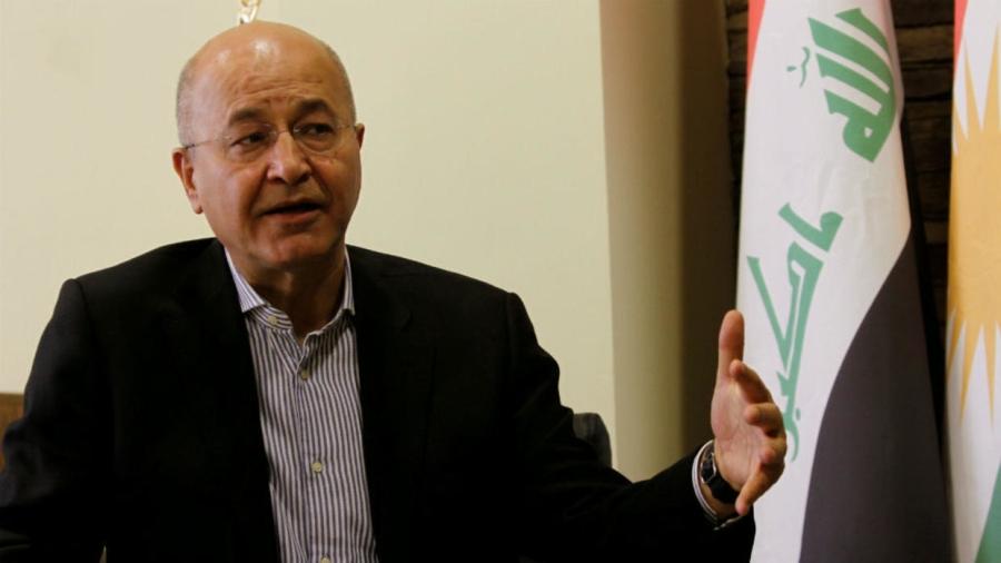 irak president Barham Saleh 02102018-barham-saleh-irak-parlement-president