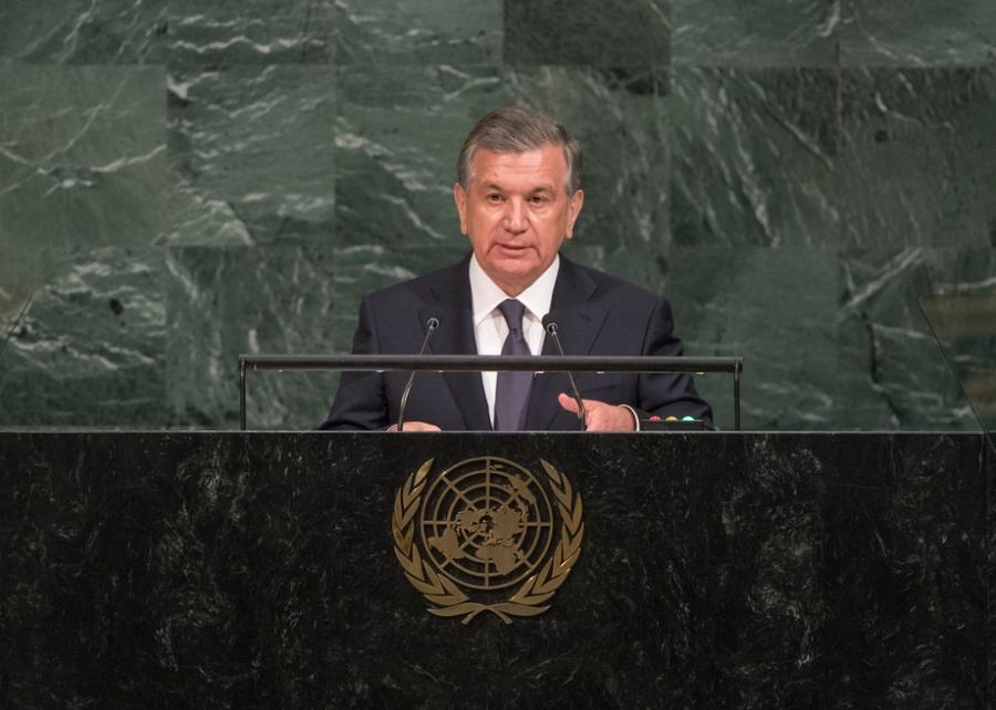 le Président ouzbek Shavkat Mirziyoyev, 733593
