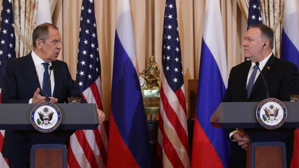 RUSSIE récente visite du Ministre russe des Affaires étrangères Sergueï Lavrov à Washington 40688230-34466085