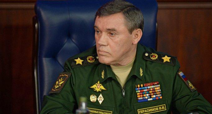 russie Valeri Guerassimov, chef de l'État-major général de l'armée russe1021161042