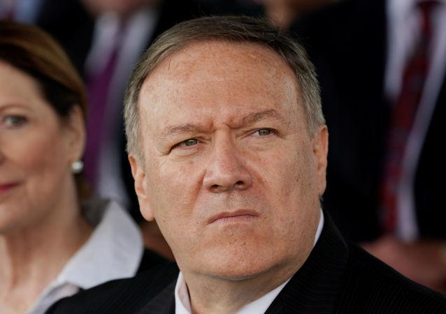USA Le Secrétaire d'État américain Pompeo 1042298550
