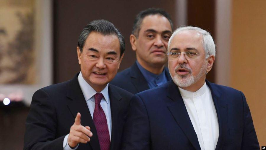 Affaires étrangères Wang Yi s'est entretenu avec le chef de la diplomatie iranienne Mohammad Javad Zarif à Beijing.C119924B-12BE-4A4E-9F50-51FF5D7DA304_w1200_r1_s