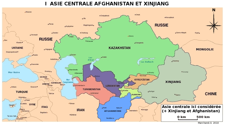 carte-1-Asie-centrale-Afghanistan-et-Xinjiang-V2