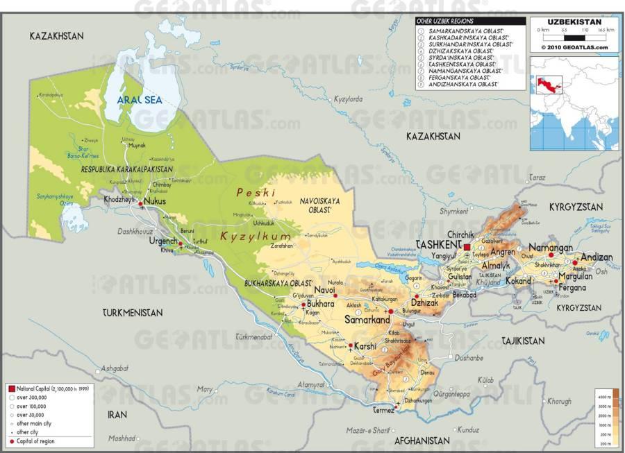carte-ouzbekistan
