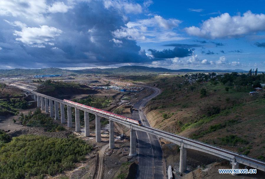Chemin de fer Nairobi-Mombasa, nouveau symbole de la coopération sino-africaine 2017051609332981021