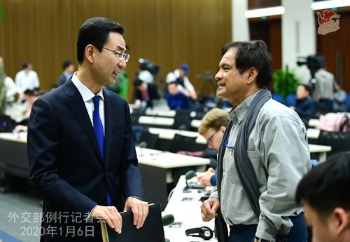 CHINE 10 Conférence de presse du 6 janvier 2020 W020200109358642270208