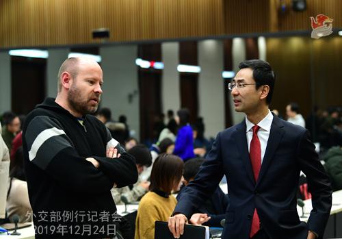 CHINE 7 Conférence de presse du 24 décembre 2019 W020191227355359076351
