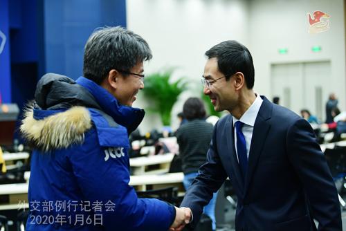 CHINE 9 Conférence de presse du 6 janvier 2020 W020200109358642268917