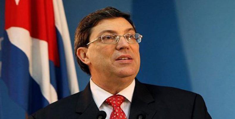 CUBA le Ministre cubain des Affaires étrangères Bruno Rodriguez.2081-bruno-rodriguez-acn