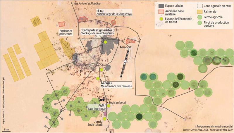 Etude de cas N°13 - le Sahara par les cartes - un espace riche, parcouru et convoité carte5