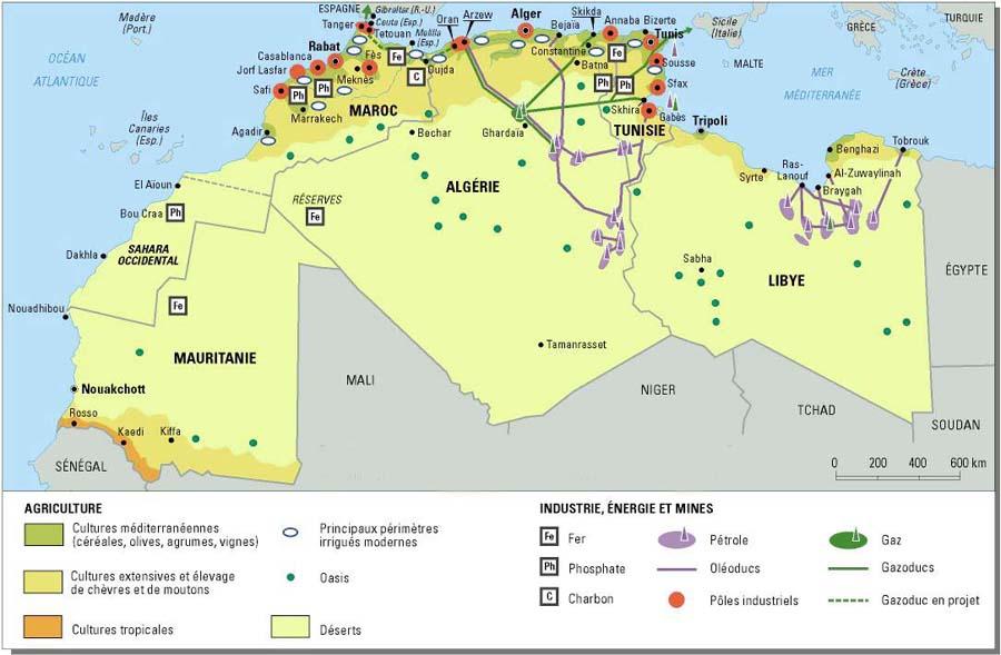 Etude de cas N°9 - le Sahara par les cartes - un espace riche, parcouru et convoité artoff577