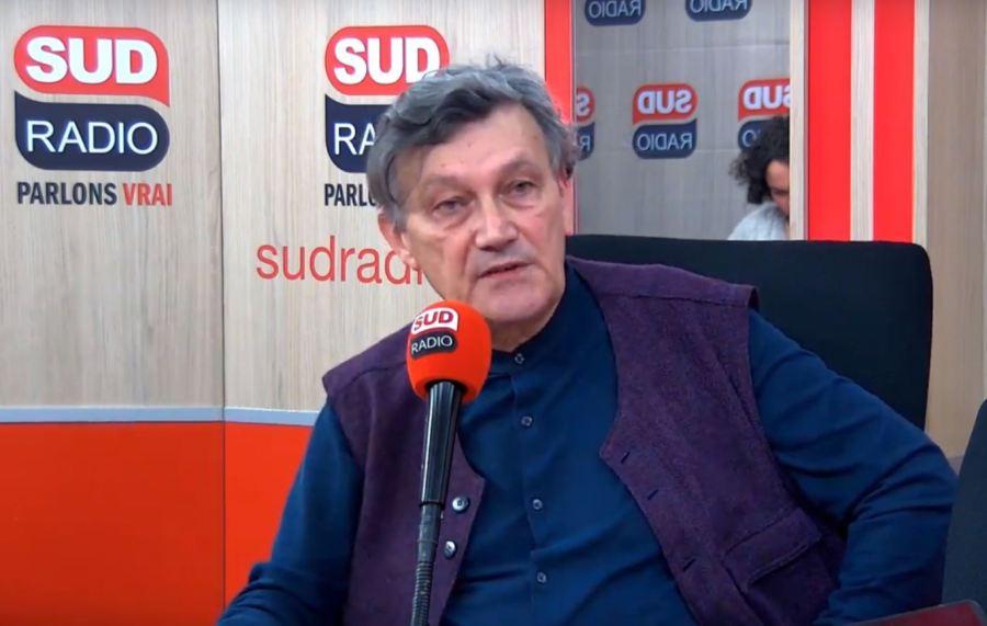 FRANCE François-Bernard Huyghe invité d'André Bercoff dans Bercoff dans tous ses états sur Sud Radio. huyghes