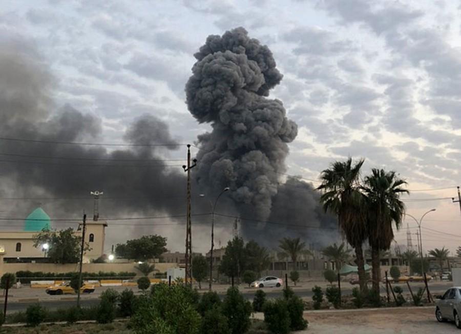frappes aériennes américaines à Bagdad