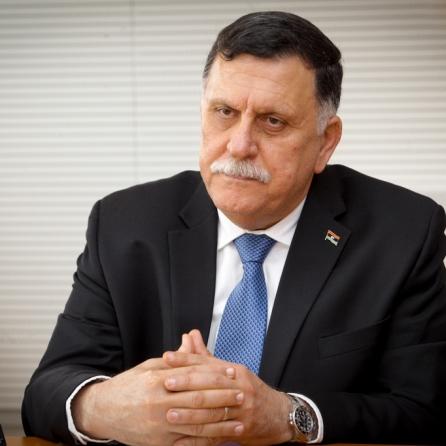 Antonio TAJANI - EP President meets with Fayez AL-SARRAJ - Prime Minister of Libya
