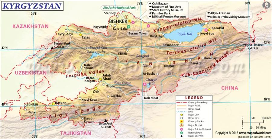 kyrgyzstan-map1