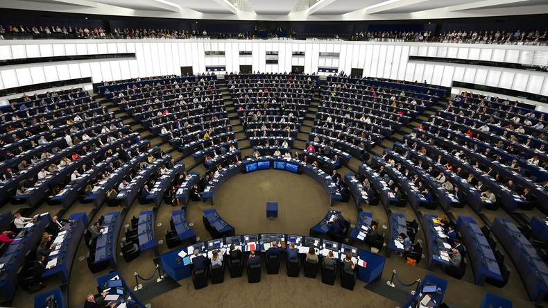 Le Parlement européen, le 17 septembre 2019, à Strasbourg, en France (image d'illustration).5db2cbd76f7ccc5de84bbd91