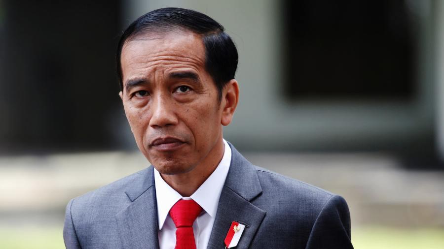 Le Président indonésien Joko Widodo