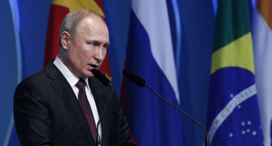 Le président russe Vladimir Poutine 1042428908