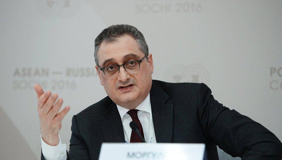 Le vice-ministre des Affaires étrangères de la Russie, Igor Morgulov.iqor-morqulov