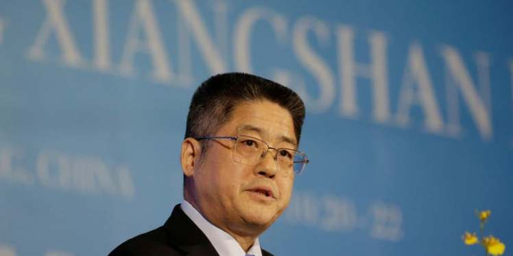 Le-Yucheng-speaks-at-a-forum-in-Beijing-China-File-photo-Reuters