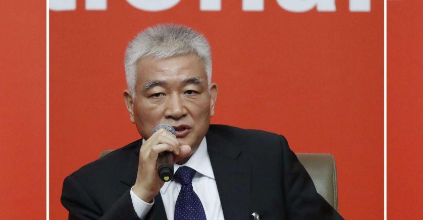 Ministre de la Science et de la Technologie, Wang Zhigang wang_zhigang_sipa