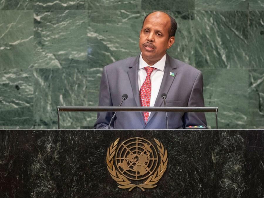 Ministre djiboutien des Affaires étrangères et de la Coopération internationale Mahmoud Ali Youssouf image1024x768