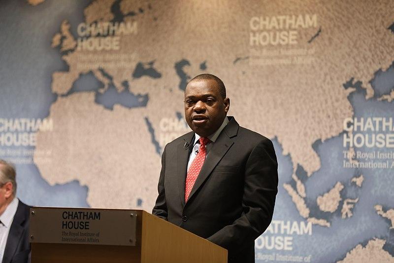 Ministre zimbabwéen des Affaires étrangères et du Commerce international Sibusiso Busi Moyo moyo