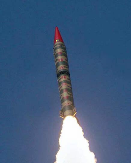 Missile pakistanais Shaheen II shaheen2