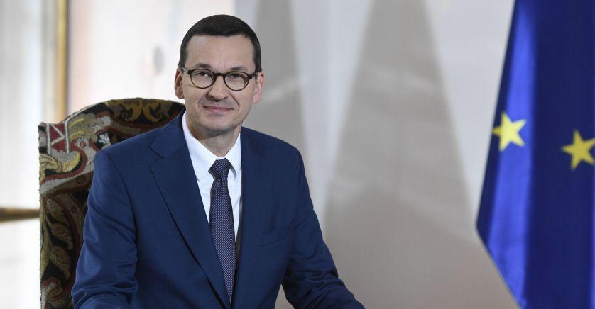 POLOGNE premier ministre polonais Mateusz Morawieckimateusz_morawiecki_sipa