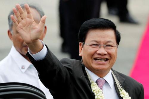 Premier Ministre laotien Thongloun Sisoulith nz_laos_090318_OMOI