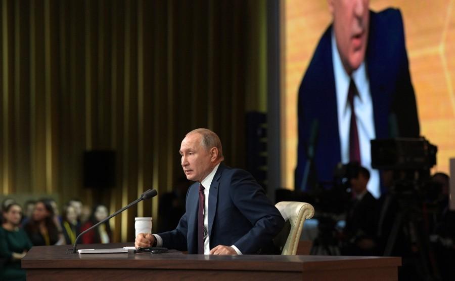 RUSSIE 13 SUR 50 CONFERENCE ANNUELLE DE V.POUTINE 2019 EDITE 2020 j 2Oq9e2TCnSEpDAyMJIbbxqjngT3DcgM