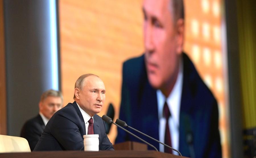 RUSSIE 18 SUR 50 CONFERENCE ANNUELLE DE V.POUTINE 2019 EDITE 2020 hRY96PlDtJAoHyEz80bEi19mYz7AOezC