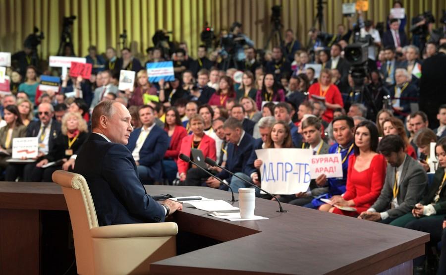 RUSSIE 31 SUR 50 CONFERENCE ANNUELLE DE V.POUTINE 2019 EDITE 2020 DHovxGOWggiezTMPejyngbIdnsumR4MV