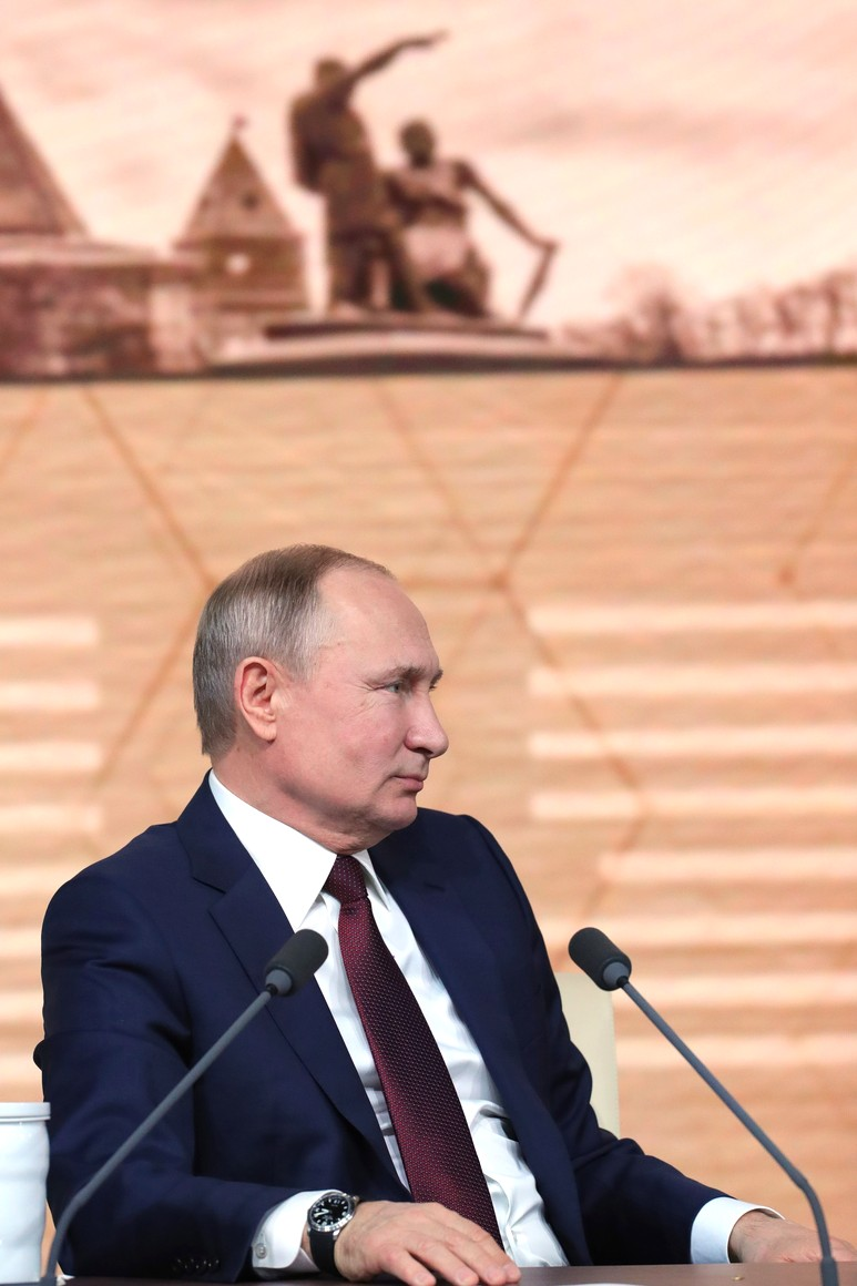 RUSSIE 34 SUR 50 CONFERENCE ANNUELLE DE V.POUTINE 2019 EDITE 2020 SFOFV9NHNrRMnLnfgt1euAMahIuUcQba