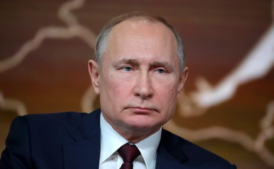 RUSSIE 38 SUR 50 CONFERENCE ANNUELLE DE V.POUTINE 2019 EDITE 2020 XzE8ZOWIaaAflAk68OIDBwPN5iPXW2TE