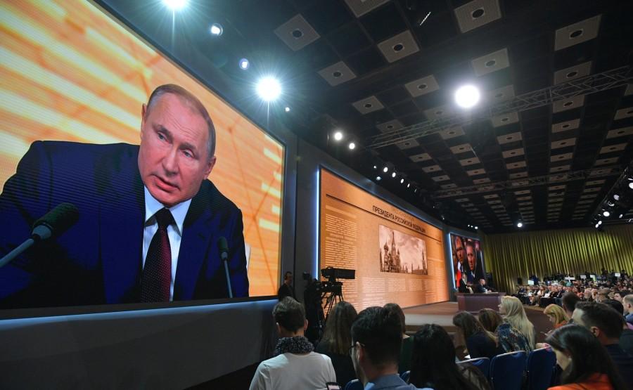 RUSSIE 4 SUR 50 CONFERENCE ANNUELLE DE V.POUTINE 2019 EDITE 2020 8HmSBfwEeMcAxiAEVzAA3LsdEXrRuT36