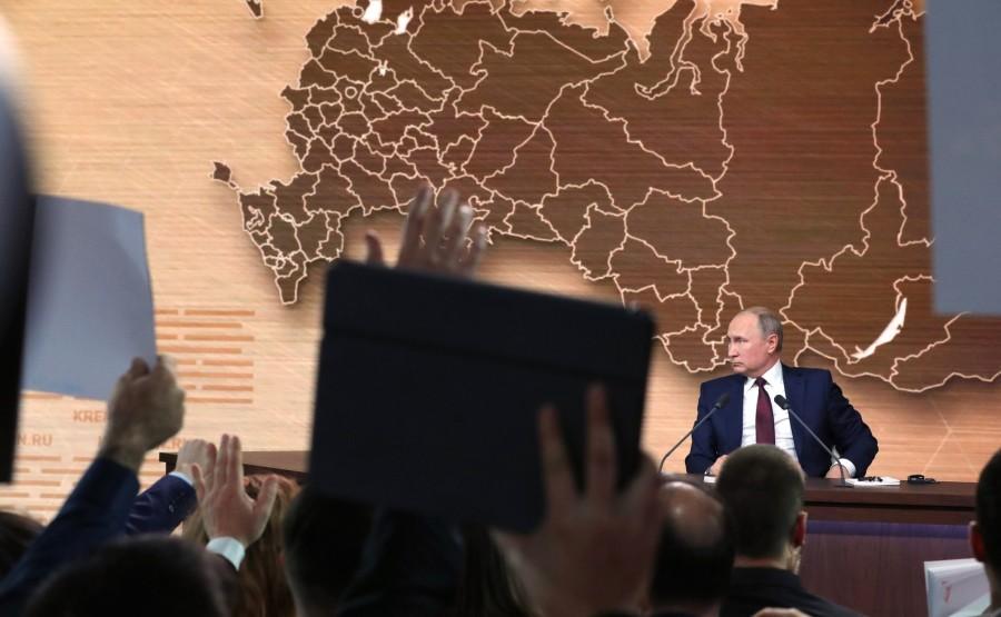 RUSSIE 45 SUR 50 CONFERENCE ANNUELLE DE V.POUTINE 2019 EDITE 2020 gbB6csn5b3rx27EUygQKReAHXAKguPCw