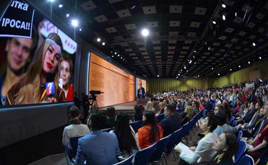 RUSSIE 7 SUR 50 CONFERENCE ANNUELLE DE V.POUTINE 2019 EDITE 2020 lzSQAYAL7NGH0TqePSLqulgCYZ2NDOrO