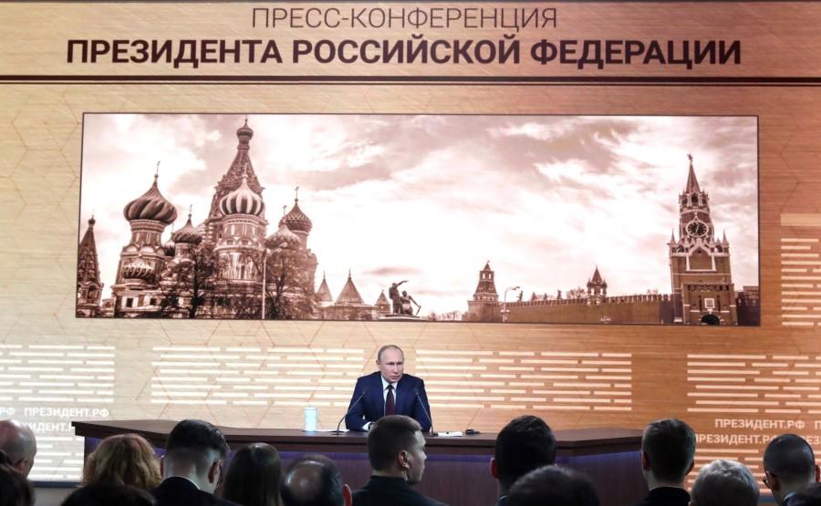 RUSSIE 9 SUR 50 CONFERENCE ANNUELLE DE V.POUTINE 2019 EDITE 2020 vyGrnONSXZeU664ybyKejrPxr59Ed2ZW