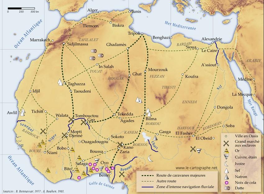 SAHARA N° 1 UN ESPACE DU FLUX ET D'ECHANGES - LE SAHARA, UNE INTERFACE AFRICAINE sahara_large