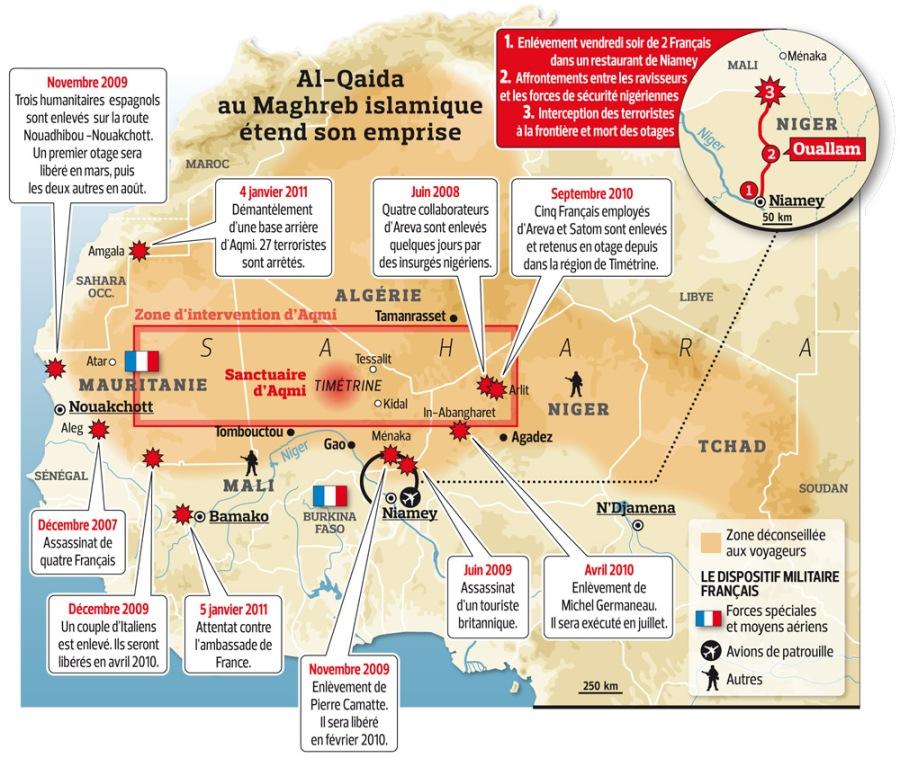 SAHARA N° 10 UN ESPACE DU FLUX ET D'ECHANGES - LE SAHARA, UNE INTERFACE AFRICAINE Niger-enlevements