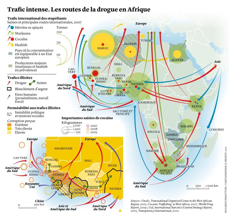 SAHARA N° 3 UN ESPACE DU FLUX ET D'ECHANGES - LE SAHARA, UNE INTERFACE AFRICAINE PRAVETTONI-droga-FR