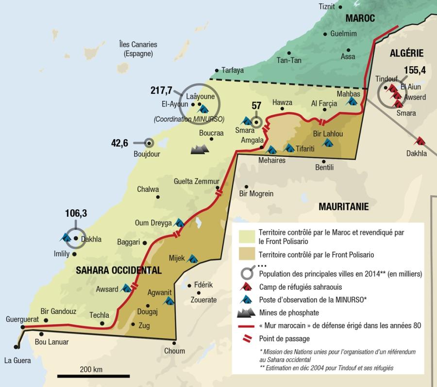 SAHARA N° 6 UN ESPACE DU FLUX ET D'ECHANGES - LE SAHARA, UNE INTERFACE AFRICAINE ob_0444b9_lasituationactuelledusaharaoccidental