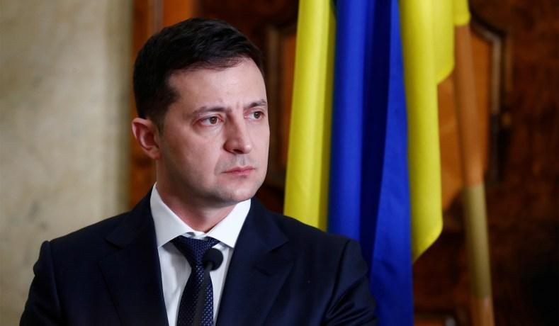 UKRAINE volodymyr-zelensky