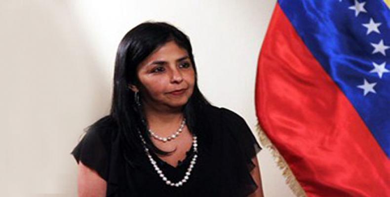 VENEZUELA la vice-Présidente exécutive Delcy Rodriguez ob_17139c_2954-delcy-rodriguez