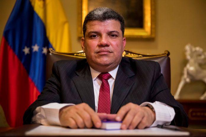 VENEZUELA président élu de l'Assemblée nationale Luis Parra 7AL4PLCNFNHNRCPSHHXHFVH6TU