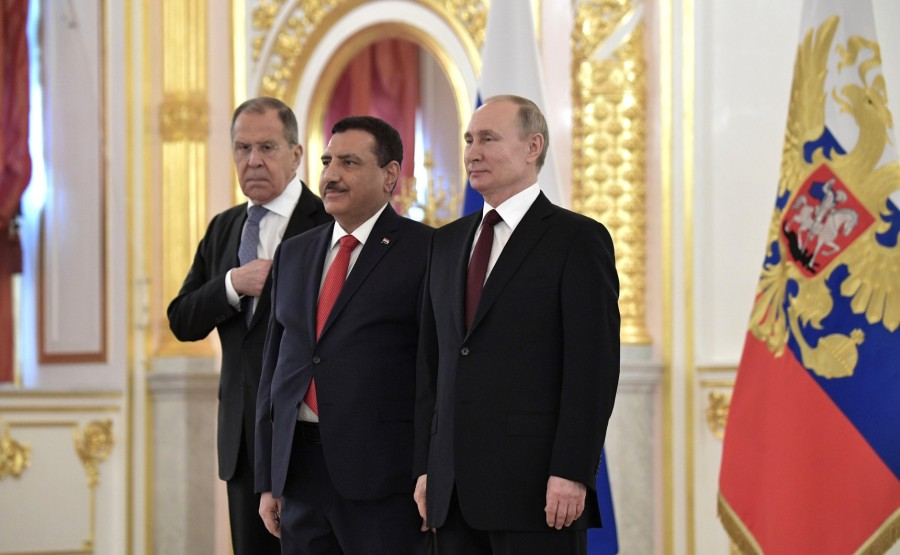 Abdulrahman Hamid Mohammed Al-Hussaini (Republic of Iraq) presents his letter of credence to Vladimir Putin N 14 .zfq7GBWlaoPBHuAEXJaeAmUXuiysX8dy