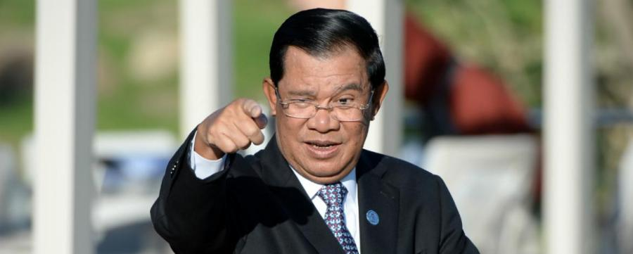 cambodge_cp_wang_zhao_afple Premier Ministre cambodgien Hun Sen